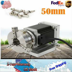 Router Rotational Rotary Axis A axis 4th axis 50mm Chuck Cnc Engraving Machine