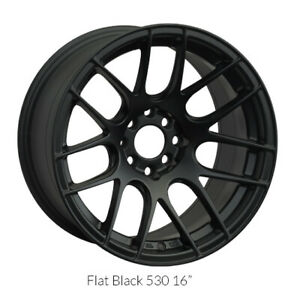 Xxr Wheels Rim 530 18x8 75 5x112 Et33 66 6cb Flat Black