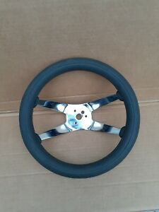 Vintage Near Mint Superior Performance Products The 500 Steering Wheel 12