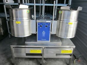 Cleveland Tket 6t Twin 6 Gal Tilt Electric Steam Kettle Nsf 2006