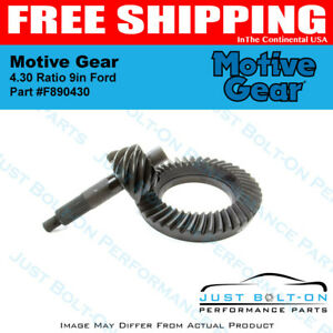 Motive Gear 4 30 Ratio 9in Ford F890430