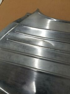 1960 Plymouth Fury Rh Rear Quarter Panel Lower Stainless Trim Moulding 60 Mopar