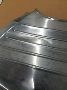 1960 Plymouth Fury Rear Quarter Panel Lower Stainless Trim Mouldings 60 Mopar