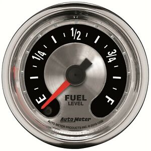 Autometer 1209 American Muscle Fuel Level Gauge