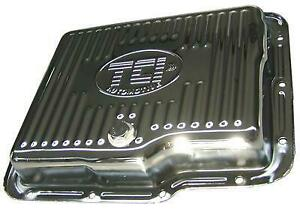 Tci 528311 Automatic Transmission Pan Stock Steel Zinc Gm Powerglide Each