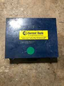 Current Tools Knock Out Hydraulic Set Heavy Duty 161ss Electrican 2 3 4 Dies