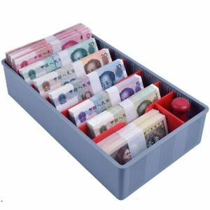 Money Cash Coin Tray Change Sorting Tray With 5 9 Compartments For Banknote