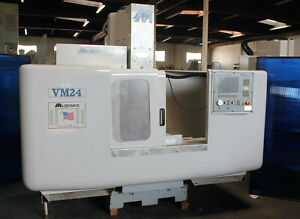 40 X 24 X 24 Milltronics Vm24c Cnc Vertical Milling Machining Center