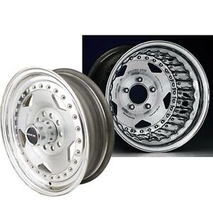 Centerline Cl 005755507 Convo Pro Wheel Polished Natural 15x7 5 5 X 4 5 4 7