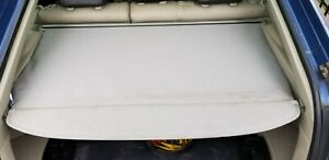04 09 Toyota Prius Rear Cargo Shade Cover Grey Clean