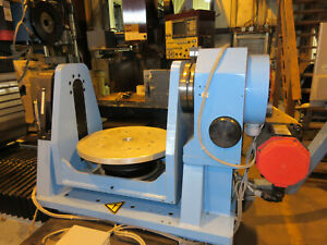 Huffman 4th 5th Axis Trunnion Rotary Table