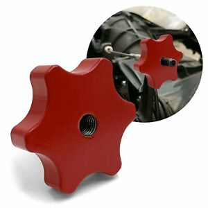 Vw Red Clutch Adjustment Nut For Aircooled Volkswagen Bug Ghia Bus Thing T3