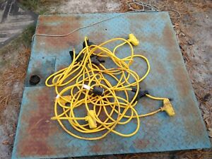 Military Alaska Shelter Tent Electrical Extension Cords Hook Up Generator