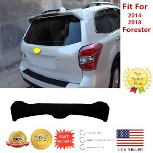 Fit For Subaru Forester 2014 2018 Factory Style Matte Black Roof Spoiler Wing