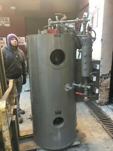 Fulton Oil Fired Boiler 10 Hp Year Build 2017