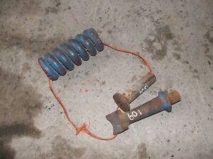 Ford 601 Wm Tractor Select O Speed Sos Transmission 3pt Hitch Top Link Spring