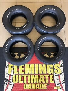 4 Goodyear Poly Glas 15 Show Car Tires Brand New