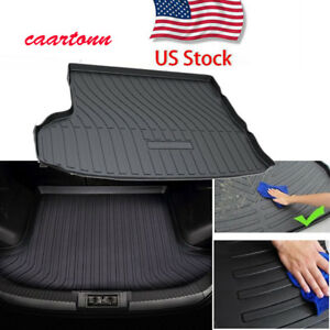 All Weather Cargo Tray Floor Mats Trunk Liner For 2014 2020 Toyota Highlander