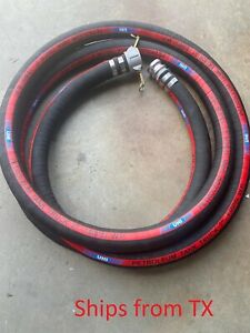 Petroleum Tank Suction Hose Suction And Discharge Hose With Fittings 2 X 20ft