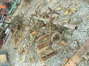 Allis Chalmers Wd 45 Wd45 Tractor Ac Cultivators Cultivator Parts Brackets Shove