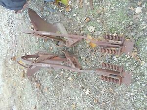 Farmall Ih Cub Tractor 2 Way Plow Ihc Good Plows Ready To Use Very Rare