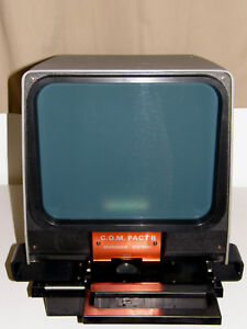 Microfiche Reader Viewer New Old Stock Gakken Working Ready To Use