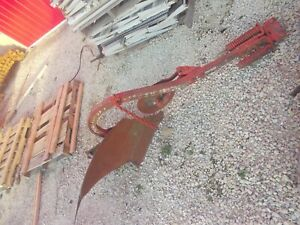 Farmall Ih Super A Sa 100 130 Tractor 1 Bottom Ih Plow W Rolling Colter Wheel