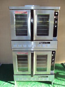 Blodgett Dfg100 Dual Flow Gas Double Bakery Commercial Oven Bakery Pizza