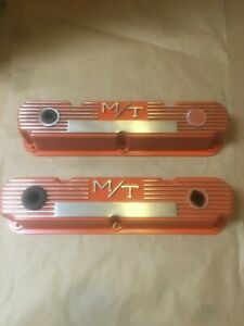 Mopar Mickey Thompson M T Dodge Small Block Valve Covers 318 340 360
