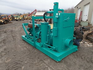 Cdpw Vawp 10 Well Point Water Pump Deutz Diesel 5000 Gpm