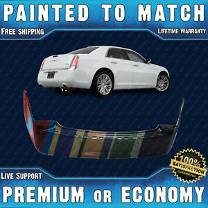 New Painted To Match Rear Bumper Cover For 2011 2012 2013 2014 Chrysler 300