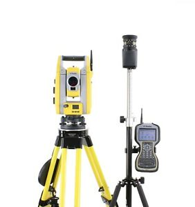 Trimble S5 5 Robotic Total Station Kit W Tsc3 Data Collector Access Software