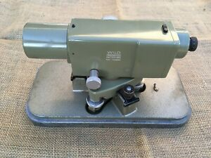 Wild Heerbrugg Switzerland Na2 Automatic Surveying Level W Cover