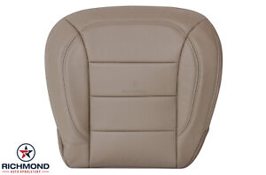 2012 2015 Mercedes Benz Ml Driver Side Bottom Genuine Leather Seat Cover Tan