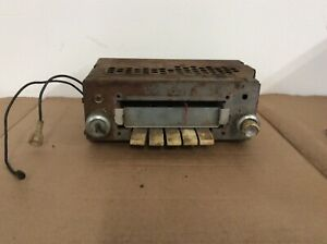 Vintage 1946 1947 1948 Ford Mercury Radio Untested 5 Amp Fomoco 94bf 402684
