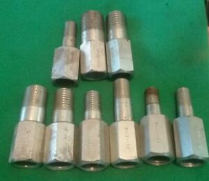 Snap On Bar Type Puller Male Adapter 18 Piece Lot Cg 455
