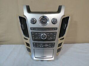 08 09 Cadillac Cts Radio Cd Nav Ac Climate Control Panel W Heated Seats Oem