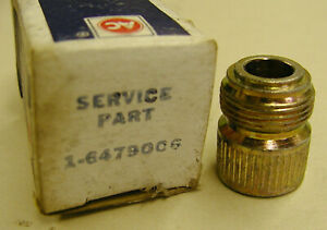 Vintage Ac Speedometer Cable Fitting New Old Stock Nos Ac Gm 6479006