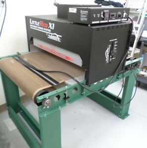 Vastex Little Red X1 Infrared Conveyor Dryer For Screenprinting mint Condition