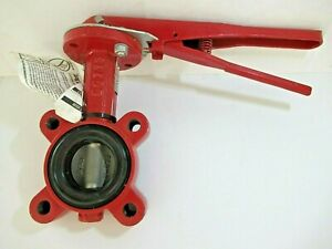 New Bray Series 31 Ansi 150 Butterfly Valve 2 Handle Included