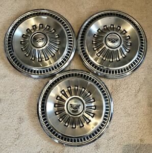 1965 65 1966 66 Ford Fairlane Galaxie Hubcaps Wheelcovers Antique Vintage Fomoco