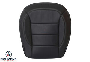 2015 Mercedes Benz Ml350 Driver Side Bottom Perforated Leather Seat Cover Black