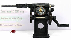 Manual Hand Coil Winder Winding Counting Machine Nz 5 Wire Tool New