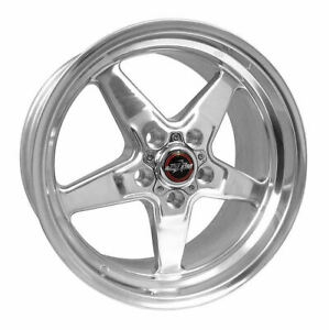 Race Star Wheels Rim 92 Drag Star Direct Drill Polished 17x4 5 5x135 25 4
