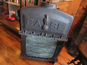 Vintage Rare Cast Iron 1930 s Case International Harvester Tractor Radiator