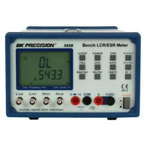 Bk Precision 889b Synth In circuit Lcr esr Meter W component Tester
