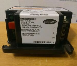 Honeywell Interrupted Ignition Oil Primary Control R7184b 1032 lockout 15 Sec