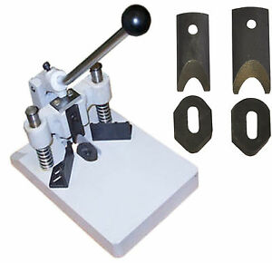 Heavy Duty Corner Cutter Id Card Rounder 2 Punch Dies R6 R10 Cut Thick Aluminum