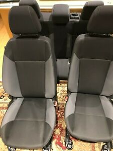Oem 2012 2016 Ford Focus Complete Set Of Seats Front And Rear Black gray manual