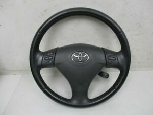 Leather Steering Wheel Multi Function Cruise Control Toyota Corolla Verso Zer